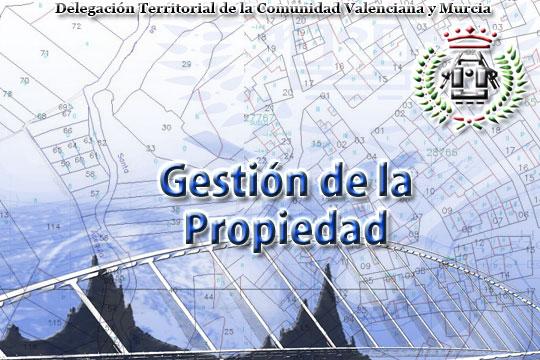Gestión de la propiedad - Delegación Territorial de la Comunidad Valenciana y Murcia del Ilustre Colegio Oficial de Ingenieros Técnicos en Topografía - Asociación Nacional de Ingenieros en Geomática y Topografía